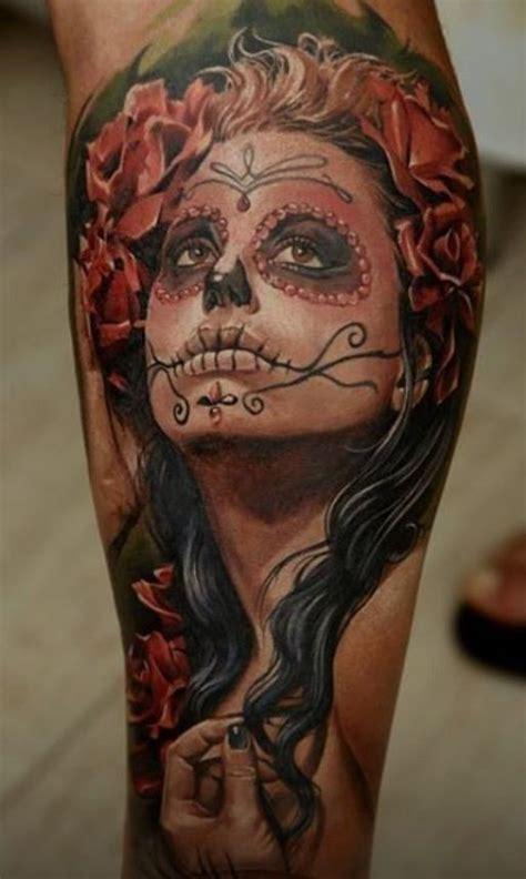tattoo pain leg santa muerte tattoo google search muerte tattoos