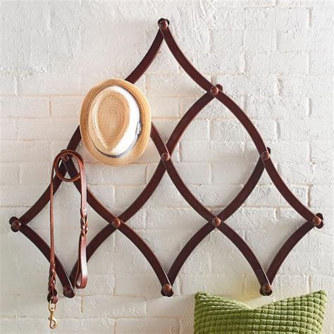Expandable Wall Rack expandable coat rack grandin road
