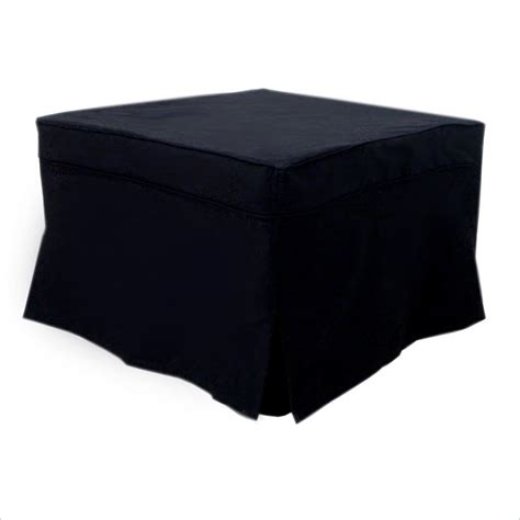 black ottoman beds ameriwood convertable sleeper black ottoman ebay