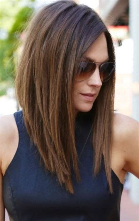 medium to long hairstyles for women over 30 best 25 medium asymmetrical hairstyles ideas on pinterest