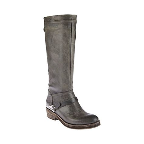 grey steve madden boots leather sandals