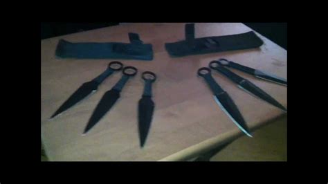 real kunai knives and sasuke s