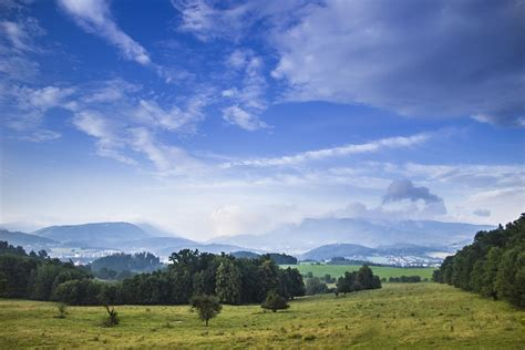 blue sky landscape free photo blue sky landscape meadow free image on