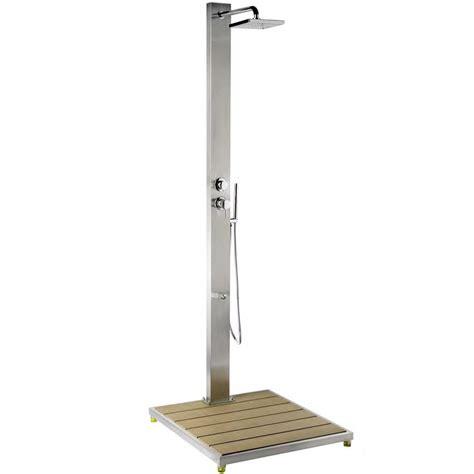 doccia piscina doccia per piscina steel design con doccetta mobile e