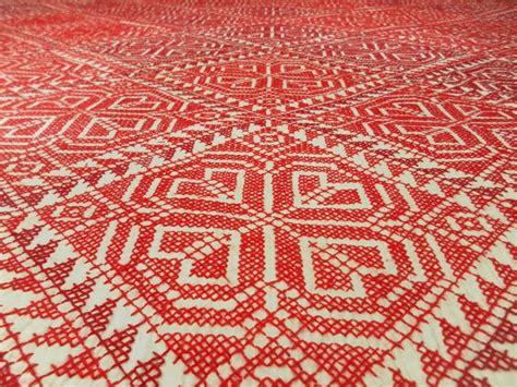 Red Bedroom Chair - nokshi katha clickbd