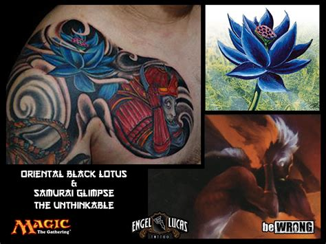 mtg tattoo magic the gathering by bewrong on deviantart