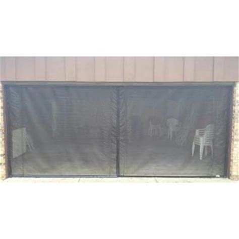 8 Foot Garage Door by Fresh Air Screens 18 Ft X 7 Ft 3 Zipper Garage Door