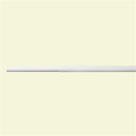 Closetmaid Rod closetmaid 6 ft 8 ft white adjustable closet rod 2052 the home depot