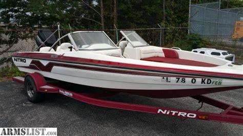 fish and ski boats for sale alabama armslist for sale 1999 nitro fs 205 fish and ski boat