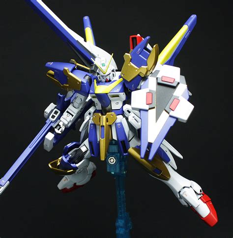 Gundam Victory hguc v2 victory two assault buster gundam painted build