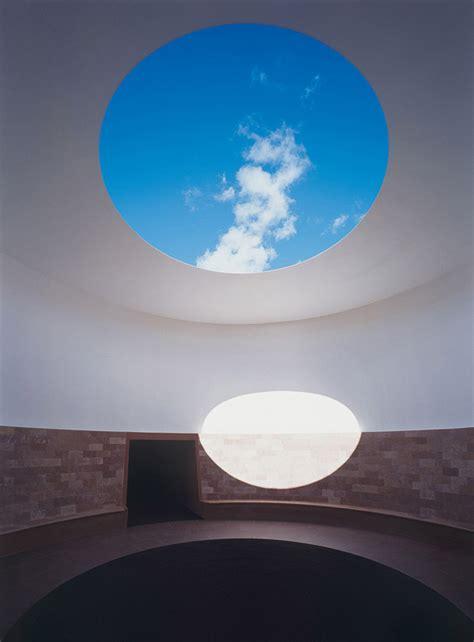 artist james turrells monumental light installation set