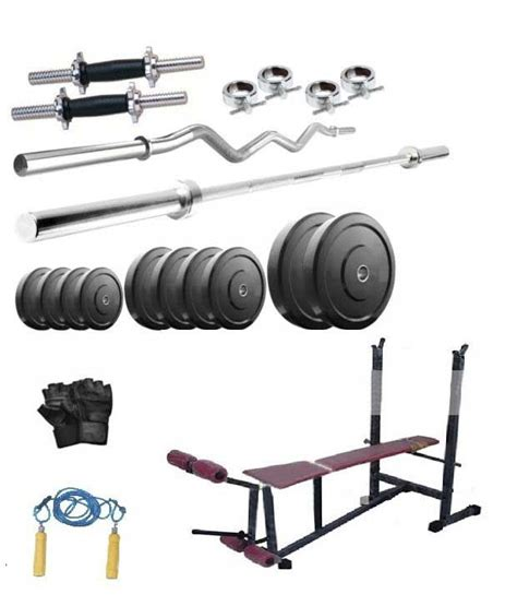 bench press rod weight facto power 6 in 1 bench press 62 kg rubber weight