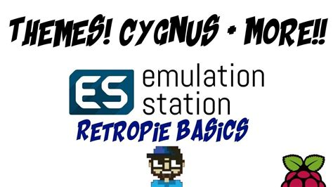 retropie theme sound download video retropie basics new theme cygnus more