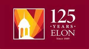 elon colors elon 125 years