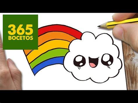 imagenes kawaii a lapiz video como dibujar un nube kawaii paso a paso dibujos