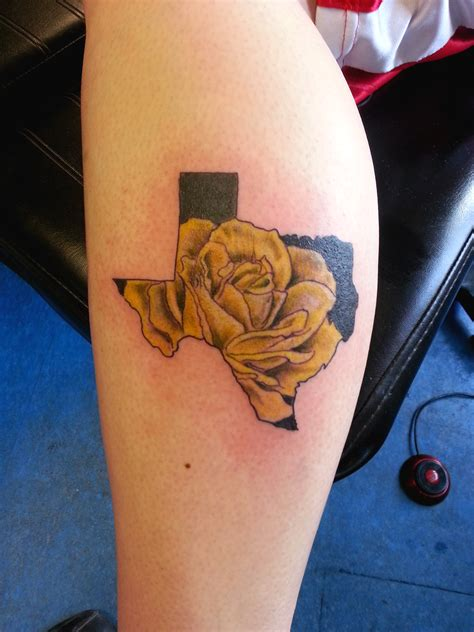 texas rose tattoo awesome yellow photos styles ideas 2018