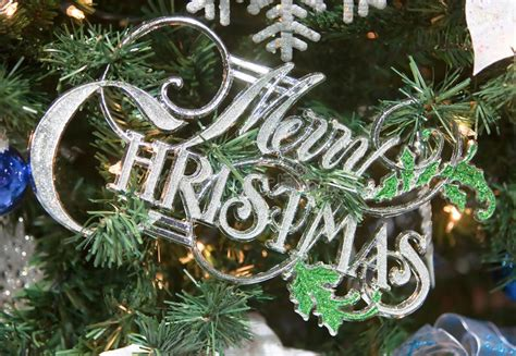 another word for christmas tree decorations www