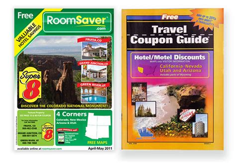 room saver coupons roomsaver travel coupon guide on behance