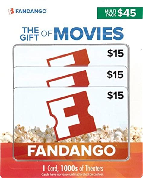 Fandango Gift Card Promo - fandango gift cards multipack of 3 amazon lightning deal picks coupon karma
