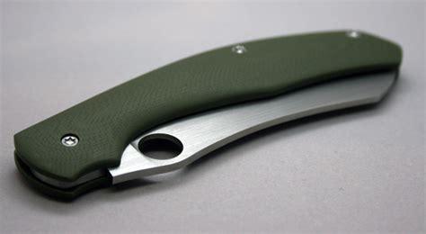 Tang Slip Joint 8 Tekiro new custom spyderco slipjoint design spyderco forums