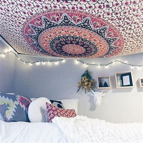 Hanging Tapestry From Ceiling by Outfitters Mandalas And Tapestries On
