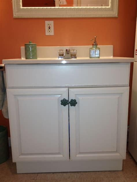 repaint bathroom vanity the elegant house painting a laminate bathroom vanity