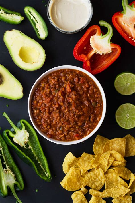 pressure cooker vegan chili eat within your means