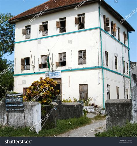 Dr David Livingstone House Stone Town Lagerfoto 1362539