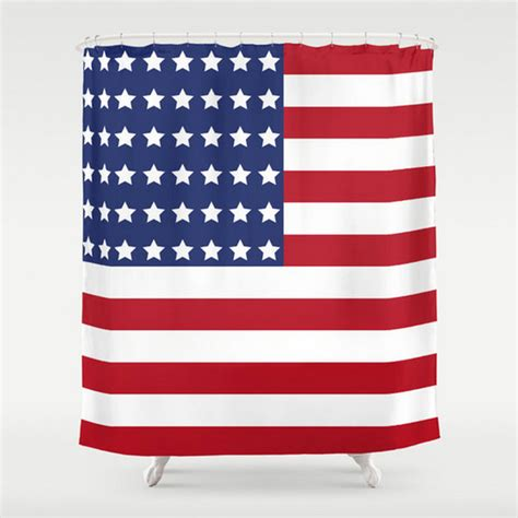 american flag curtains american flag shower curtain large shower curtain stripes
