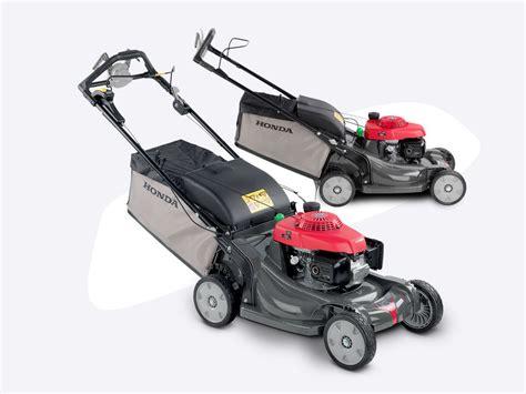 how to start a honda lawn mower hrx high tech petrol lawnmowers honda uk