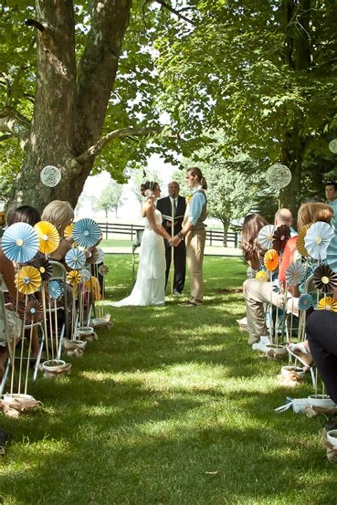 Outdoor Wedding Ceremony Decorations by Outdoor Ceremony Ideas Wedding Ceremony Photos By Aimee