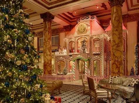 Gingerbread House Fairmont San Francisco by In San Francisco 23 Things To Do Purewow