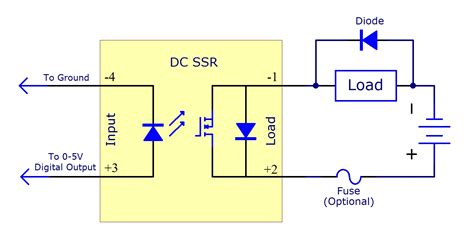 solid state relay wiring diagram solid get free image