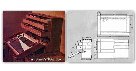 Joiners Tool Box Plans ? WoodArchivist