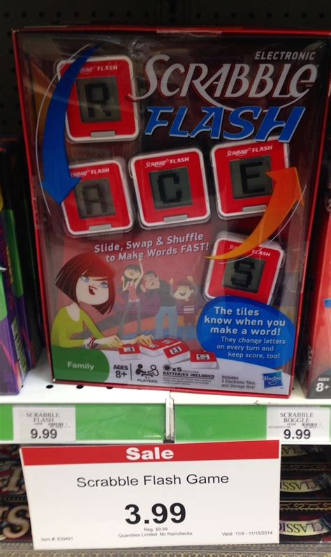 Scrabble Flash Deal At Toys R Us Pay Just 99 162