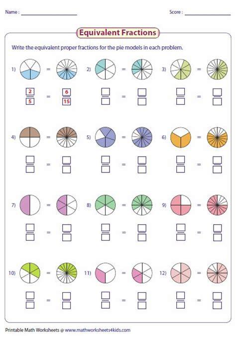 las 25 mejores ideas sobre fracciones equivalentes en