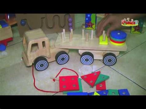 Ayunan Jati Balok mainan kayu sliding car doovi