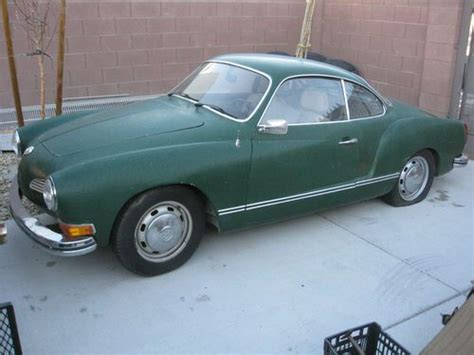 karmann ghia green find used 1972 vw karmann ghia coupe green original in las