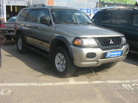mitsubishi cars 2003 2003 mitsubishi montero sport reviews specs and prices