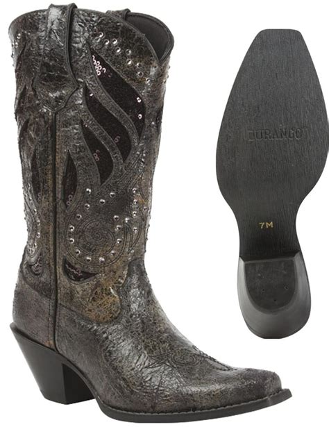 new durango s crush bling leather western