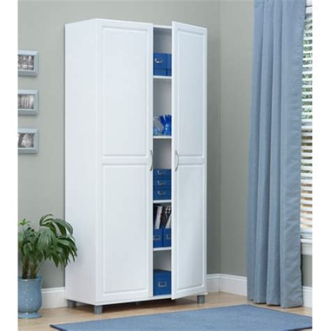 Reasonably Priced Home Decor by Systembuild 36 Quot Utility Storage Cabinet White 7363401pcom