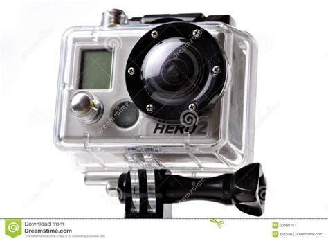 macchina fotografica di azione di gopro hero2 fotografia editoriale immagine 23180751
