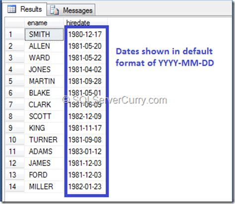 format date sql t sql date format with convert