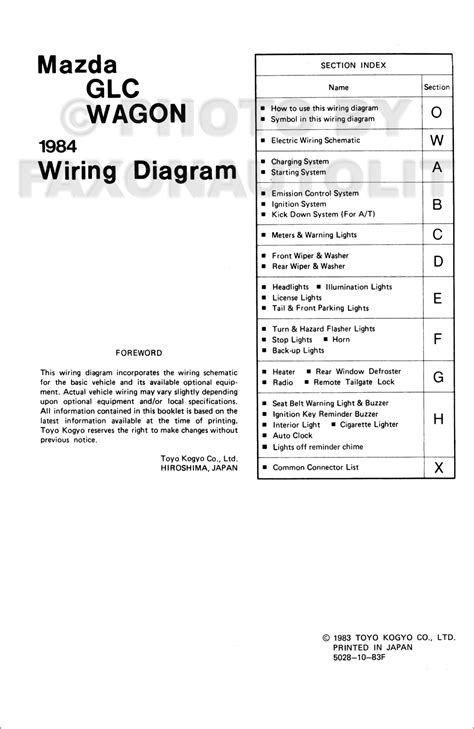 car repair manuals online pdf 1984 mazda glc electronic valve timing service manual pdf 1984 mazda glc electrical wiring diagrams 1984 mazda rx 7 wiring diagram