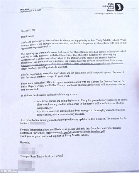 kid up letter 100 exposed as parents pull from school ebola
