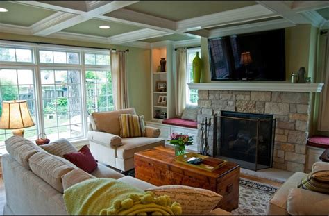 family room addition family room addition with a fireplace and 2nd floor space traditional family room