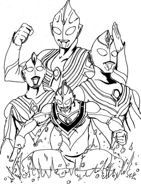 coloring book ultraman mebius free ultraman coloring pages