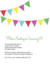 The cute and classic party banner birthday invitation this design is