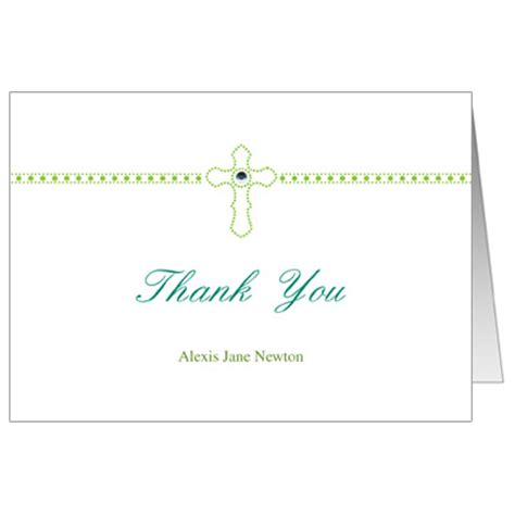 confirmation thank you card template dazzling cross communion invitation