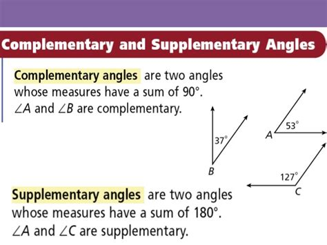 supplement of the complement 11 4 lines and angles